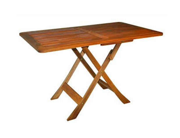 Tavolo Da Terrazzo Pieghevole : Tavolo da esterno giardino terrazzo pieghevole legno di acacia