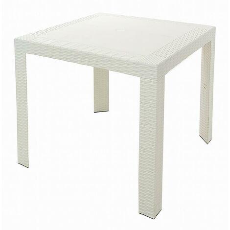 Tavoli Di Plastica Quadrati.Tavoli Quadrati 100x100 Bianchi Al Miglior Prezzo