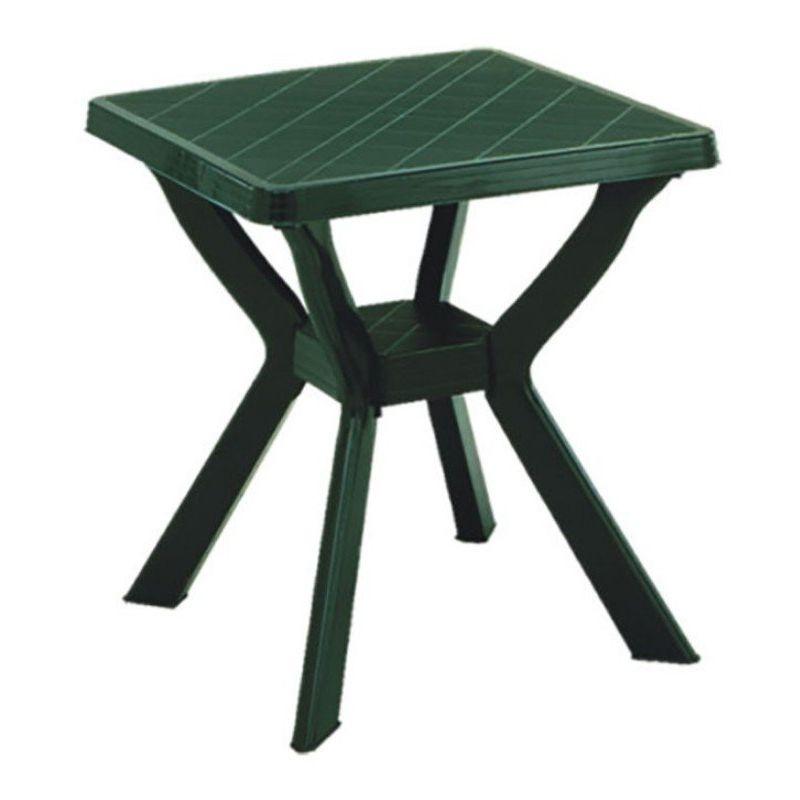 Tavoli Di Plastica Quadrati.Tavolo Da Giardino In Plastica Quadrato Reno Ipae Progarden Peso