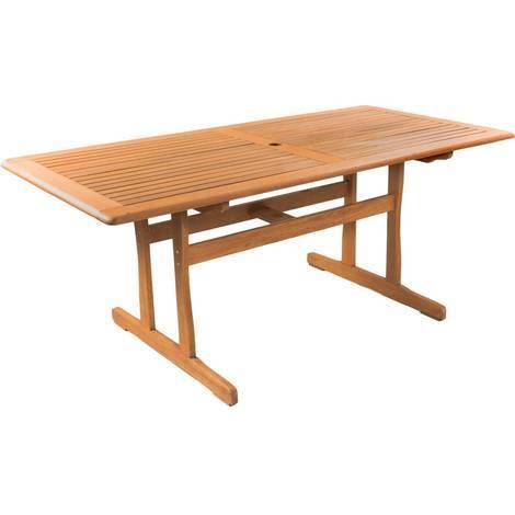 Tavolo da giardino Osaka - 180 x 90 - Legno naturale - 1063_93795