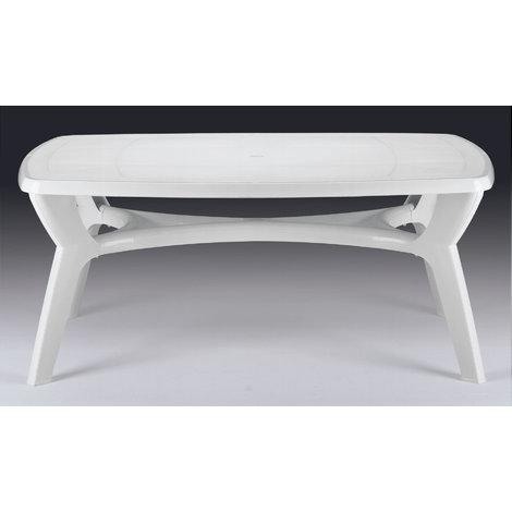 Tavoli Da Giardino In Resina Grand Soleil.Tavolo Da Giardino Ovale 170x103 Arcade Grandsoleil Bianco S6981b0k