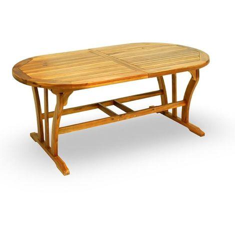 Tavolo Da Giardino Legno Allungabile.Tavolo Da Giardino Raden 200x100 Cm Allungabile In Legno D Acacia Legno