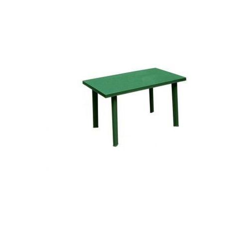 Tavolo Da Giardino In Plastica Verde.Tavolo Da Giardino Rettangolare In Plastica Velo Verde Ipae