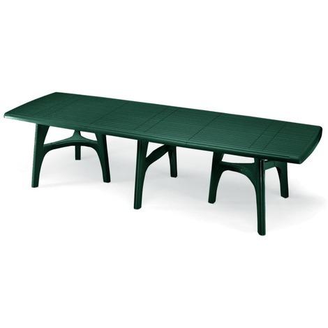 Tavoli Da Giardino Scab.Tavolo Da Giardino Rettangolare President 3000 Verde Deco Top