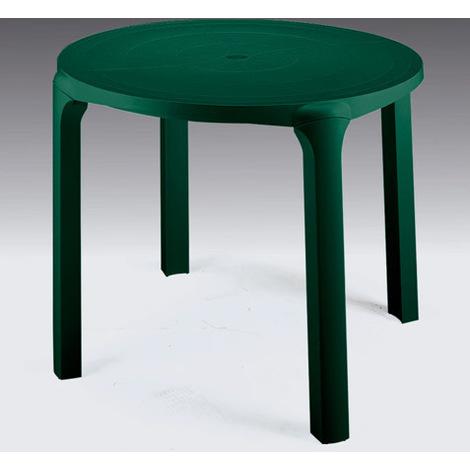 Tavolo Da Giardino Rotondo.Tavolo Da Giardino Rotondo Diametro 90 Cm 4 Gambe Ole
