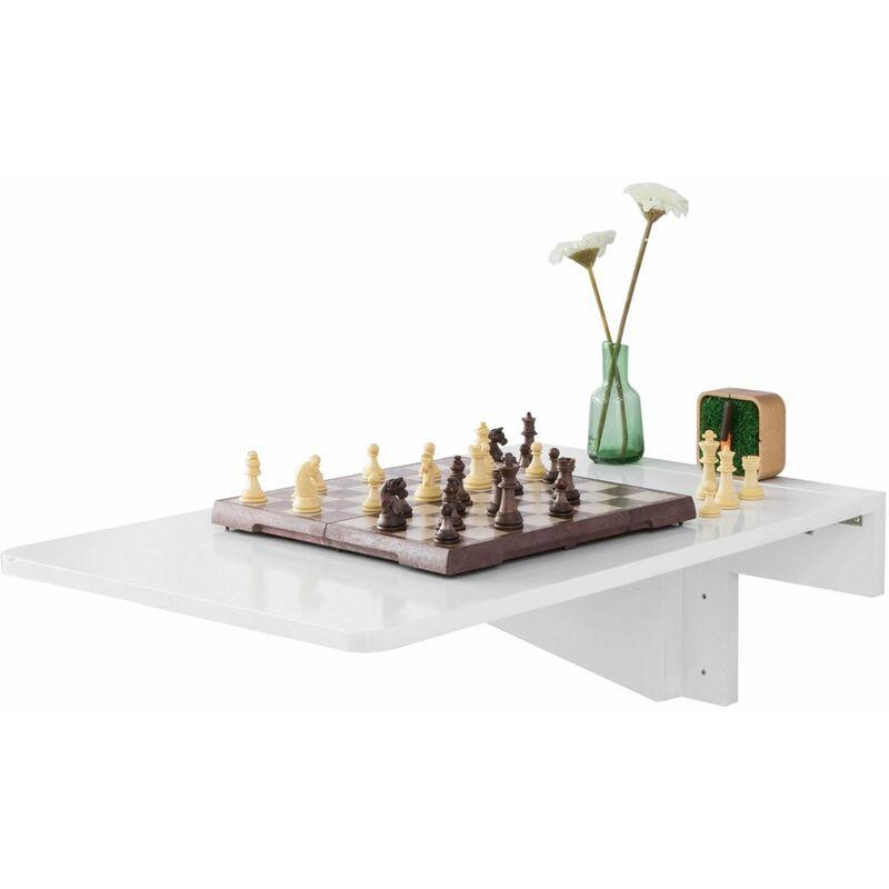 Tavolo da muro pieghevole in legno 70×45cm, FWT04-W, IT ...