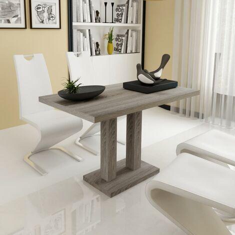 Tavolo da pranzo cucina in legno design moderno 120 x 70 x 75 rovere