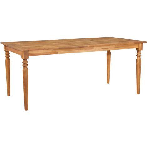 Tavoli In Legno Massello Da Esterno.Tavolo Da Pranzo Esterno In Legno Massello D Acacia 180x90x75cm