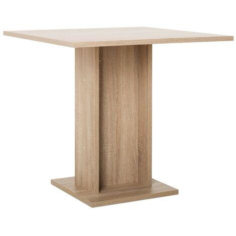 Tavolo da Pranzo Fisso 80x80 cm Rovere Quadrato Salotto ...