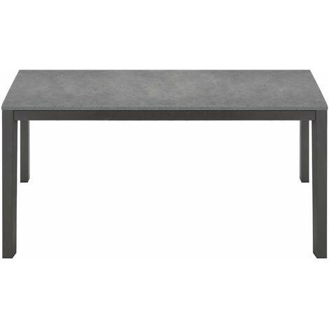 Tavolo Sala Moderno.Tavolo Da Pranzo Moderno Di Design Allungabile Cm 80 X 120 170 Rovere Grigio Per Sala Da Pranzo Cucina Ristorante