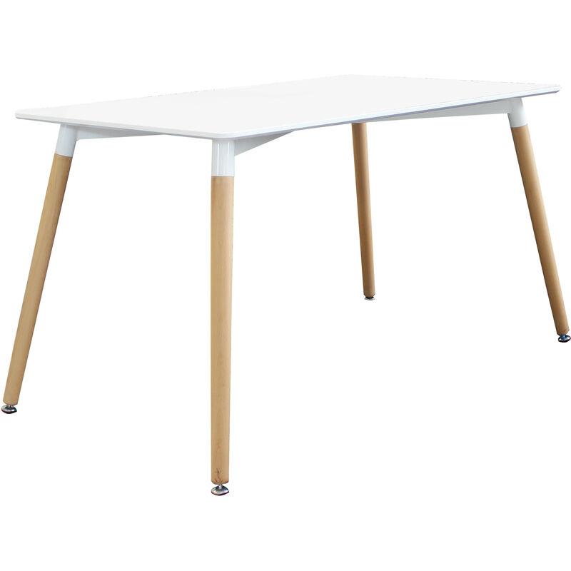 Tavolo Da Pranzo Moderno Di Design Fisso Cm 120 X 80 In ...