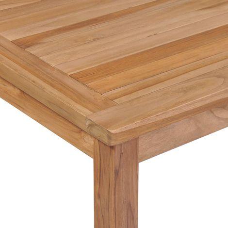 Tavolo Da Pranzo Per Esterni 200x100x77 Cm Massello Di Teak 44998it