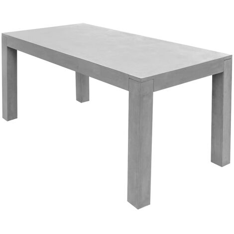 Tavoli Da Esterno In Cemento.Tavolo Da Pranzo Per Esterno Rettangolare In Cemento