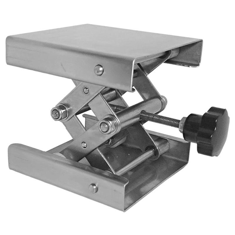 Tavolo elevatore, acciaio inossidabile, laboratorio - E6746
