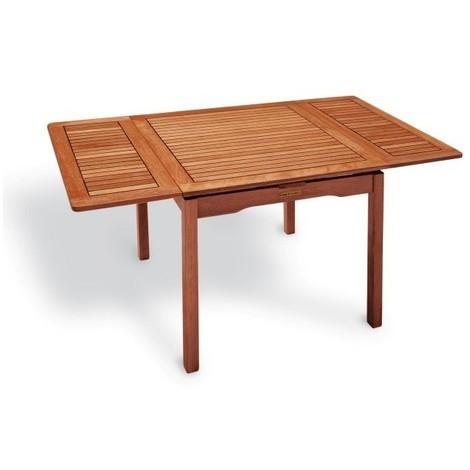 Tavolo Quadrato Allungabile Da Esterno.Tavolo Esterno Palma Estensibile 80x80 150 H 77 9504