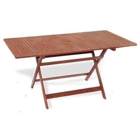 Tavolo Per Esterno Pieghevole.Tavolo Esterno Pieghevole Caprifoglio 150x80 H 72