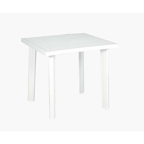 Tavolo Bianco 80x80 Allungabile.Tavolo Fiocco Bianco 80 X 80 Cm 8009271908604
