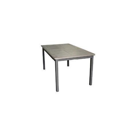 Tavolo Giardino Resina Allungabile.Tavolo Giardino Esterno Riomaggiore Allungabile Alluminio In