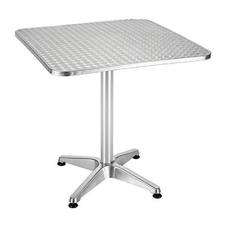 Tavoli Per Bar Da Esterno.Tavolo In Alluminio Alto Bar Ribaltabile Pieghevole Da Esterno