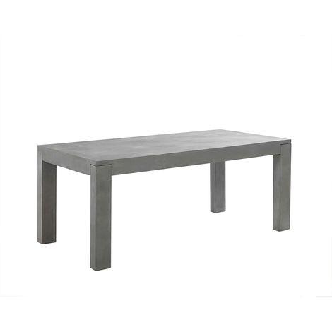 Tavoli Da Esterno In Cemento.Tavolo In Cemento Da Giardino 180 X 90 Cm Taranto