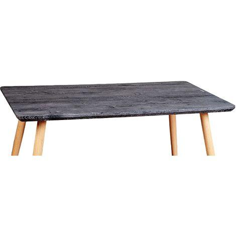 Tavolo Moderno Rettangolare In Legno Rovere Perfetto Per Cucina Sala Da Pranzo E Ufficio 6060036