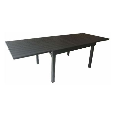 Tavolo Per Terrazzo Allungabile.Tavolo Per Esterni In Alluminio Allungabile Color Antracite Rta 55