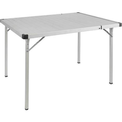 Tavolo In Alluminio Da Campeggio.Tavolo Polar Campeggio Giardino Pieghevole Estensibile Alluminio