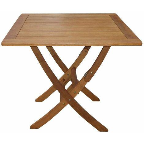 Tavolo Giardino Legno Richiudibile.Tavolo Quadrato 80x80 Da Giardino Legno Per Esterno Pieghevole Balcone Terrazzo