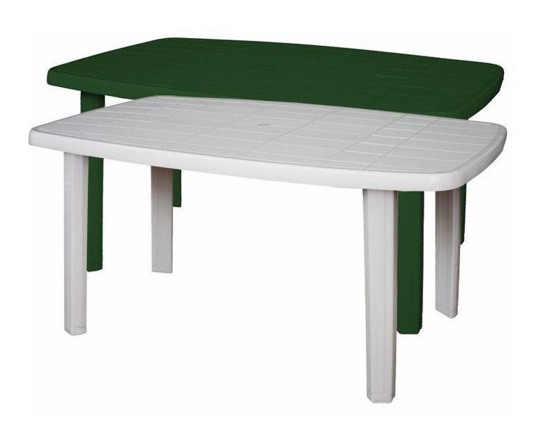 Lavello Da Giardino In Plastica : Tavolo rettangolare in resina di plastica verde o bianco per