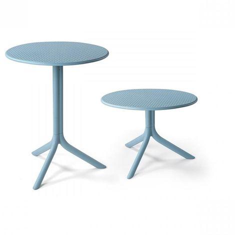 Tavoli Da Giardino Nardi.Tavolo Step O 60 Cm Piede Centrale Da Bar E Ristorante Tavolino In