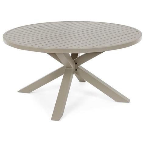 Tavoli Da Giardino In Alluminio.Tavolo Tavoli Da Giardino Per Esterno Skipper In Alluminio Tondo