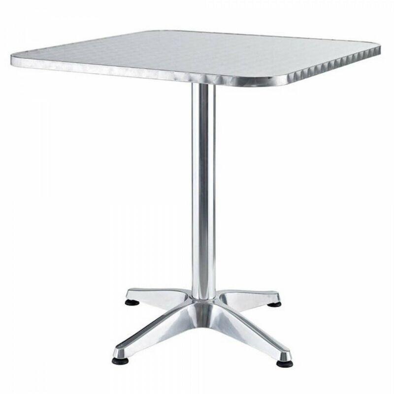 Tavolo tavolino quadrato con piede centrale per Bar ...
