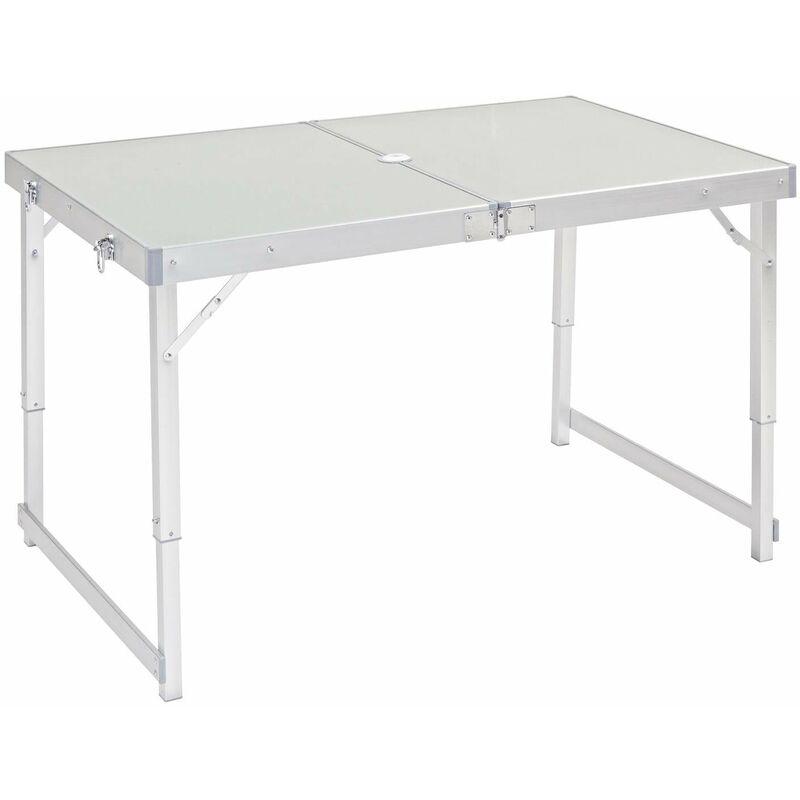 Tavolino Campeggio Pieghevole Alluminio.Tavolo Tavolino Valigetta Pieghevole Richiudibile Campeggio Mare Spiaggia In Alluminio