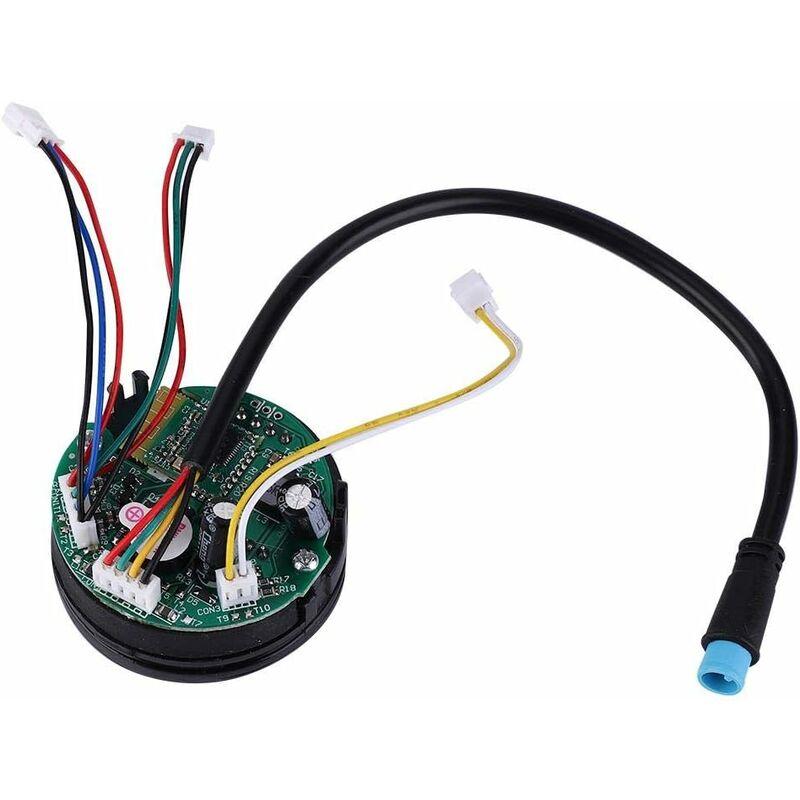 Tbest Circuit Board Circuito a rulli per Xiaomi, Cruscotto per scooter elettrico pieghevole con coperchio per Ninebot ES1 ES2 ES4