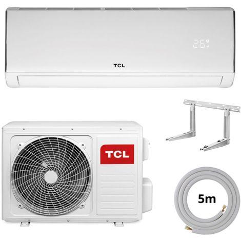 """TCL Klimaanlage """"Elite"""" R32 Wandgerät 5m komplett Set 3,3 kW"""