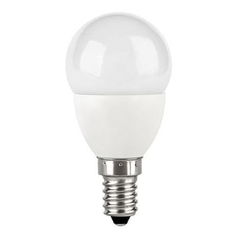 TCP LED 5w - 30w E14 SES Golf Ball Mini Globe Light Bulb Warm White 330lm 2700K