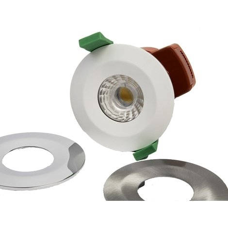 TCP Smart Fire Rated CCT Adjustable LED Downlight