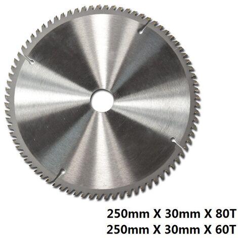 "main image of ""TCT Circular Wood Saw Blade 250mm x 30mm x 60T for Bosch Makita Dewalt 255mm Saw"""