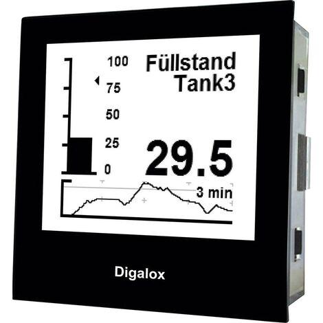 TDE Instruments Digalox DPM72-PP Digitales Einbaumessgerät Grafisches DIN-Messgerät für Nebenwide Q024141