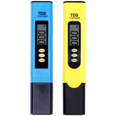 """main image of """"TDS pH 2 in 1 water quality tester, measuring accuracy 0-14 pH, resolution 1 PPM, reading accuracy 2%, setting 0-9990 PPM, suitable for swimming pools, aquariums, plantations, drinking water"""""""