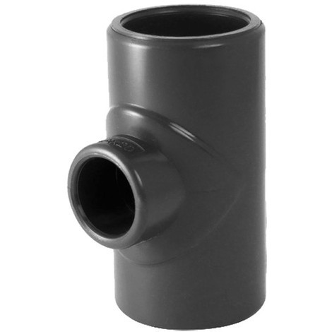 Té 90° réduit PVC pression à coller FFF - Générique - Plusieurs modèles disponibles