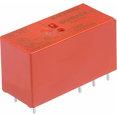 TE Connectivity RTE24012 12V 8A DPCO Relay RTE24