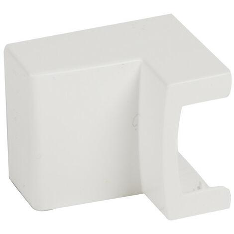 Té de dérivation 3D pour moulure Keva 32x12mm blanc Artic (11802)