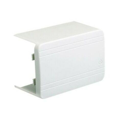 Té de dérivation avec réducteur NTAN - Pour goulotte de distribution 120x60mm - Blanc