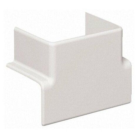 Té de dérivation pour goulotte PVC Optiline 45 - Vers goulotte verticale L95 x H55mm