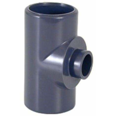 Té réduit à coller Pvc pression 140x90