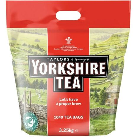 Yorkshire Tea Bags (Pk-1040)