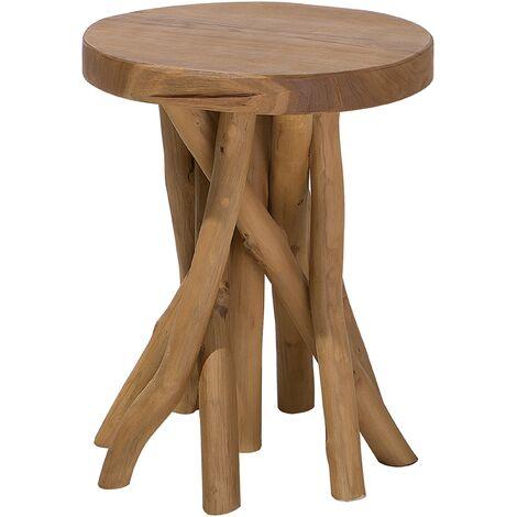 Teak Wood Side Table MERRITT