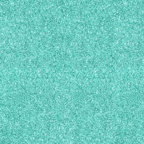 Teal Green Sparkle Glitter Wallpaper Quality Designer Heavy Weight Vinyl 701355