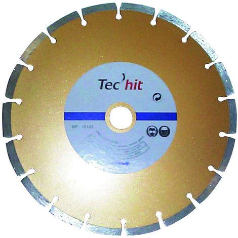 TEC HIT 220230 - Disque Diamant - Avec une Diamètre 230mm - Alesage 22.2 - Jante Segmenté